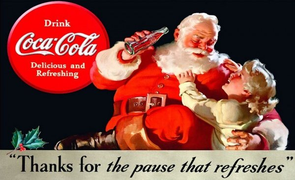 The Yuletide Story Of Coke, Santa Claus And Perception