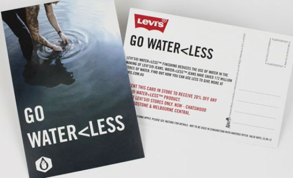 Levis Water Less Campaign