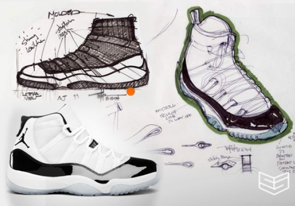 Air Jordan Sketches