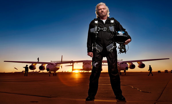 Richard Branson Brand Architect Brand Champion Virgin