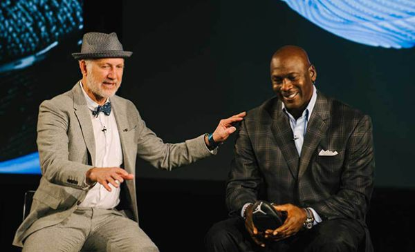 Tinker Hatfield and Michael Jordan Brand