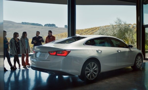 2016 Chevrolet Malibu Brand Perceptions