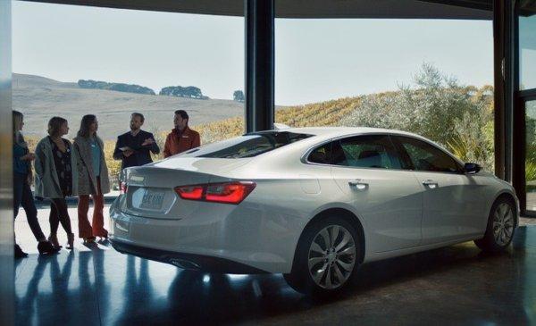 2016 Chevrolet Malibu Brand Perceptions