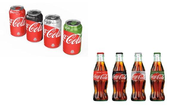 Coca-Cola's New Visual Brand Identity