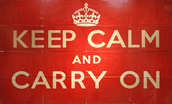 Keep Calm And Carry On Branding