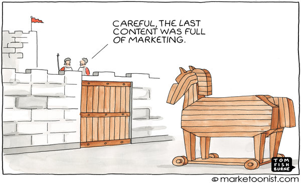 Why Branded Content Is Not Marketing