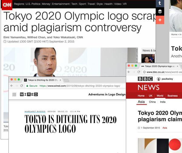 Brand scandal in Tokyo 2020