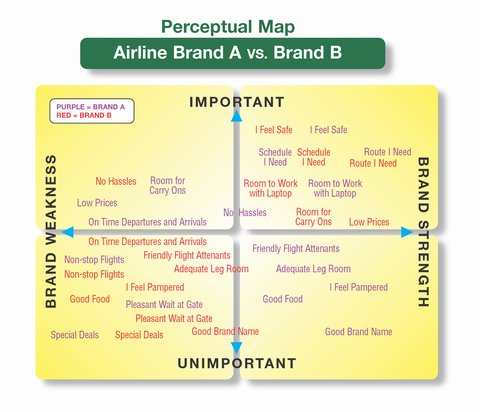 perceptual maps and marketing