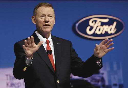 Alan Mulally Ford Brand Strategy