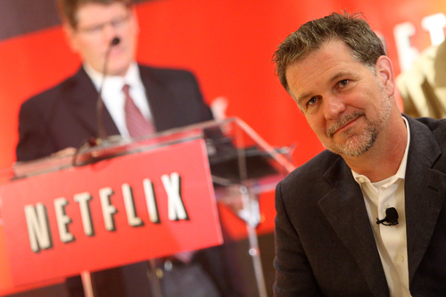 Netflix reed hastings brand strategy