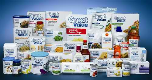 Private Label Strategy Walmart Great Value