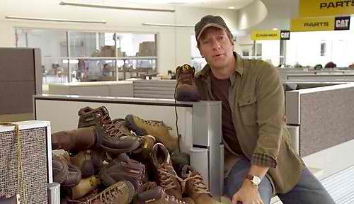 Brand Extension CAT Footwear Mike Rowe Wolverine World Wide