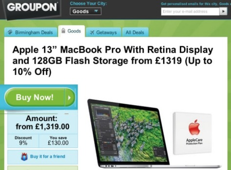 Brand Strategy Apple Groupon