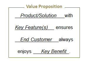 Value Proposition framework